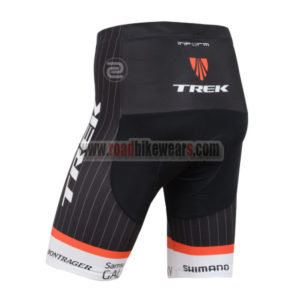 2015 Team TREK Bike Shorts White Black