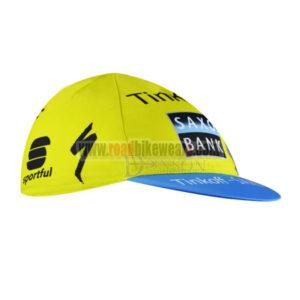 2015 Team Tinkoff SAXO BANK Biking Cap Hat Yellow