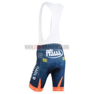 2015 Team VINI FANTINI NIPPO Riding Bib Shorts Blue Orange