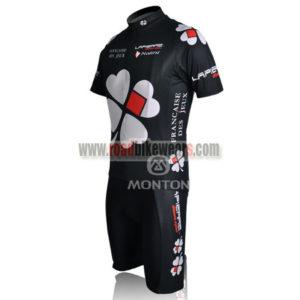 2010 Team FDJ Biking Kit Black