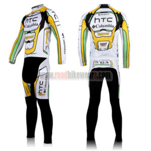 2010 Team HTC highroad Cycle Long Kit