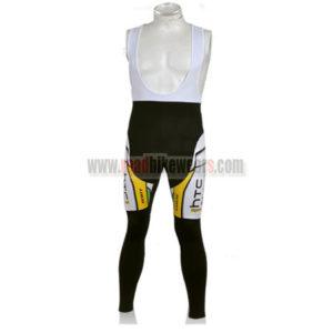 2010 Team HTC highroad Cycling Long Bib Pants
