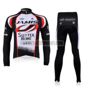 2010 Team JAMIS Cycling Long Kit