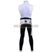 2010 Team Mellow Johnny's Cycling Long Bib Pants White
