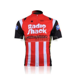 b6e890151 2010 Team RadioShack Mellow Johnny s Road Bike Wear Cycle Jersey Top Shirt  Maillot Cycliste Red