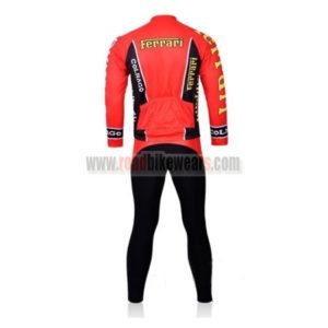 2011 Team FERARI Riding Long Suit Red