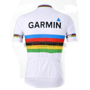 2011 Team GARMIN cervelo UCI Bike Jersey White