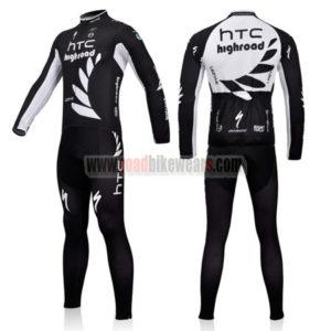 2011 Team HTC Highroad Cycle Long Kit Black