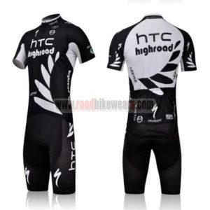 2011 Team HTC Highroad Cycling Kit Black