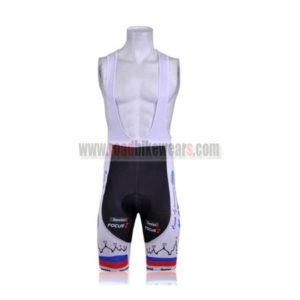 2011 Team KATUSHA Cycle Bib Shorts White
