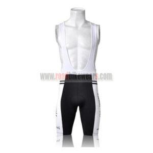 2011 Team Nalini '70 Riding Bib Shorts White