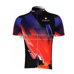 2011 Team Nalini Bicycle Maillot Jersey Shirt Blue Red Black