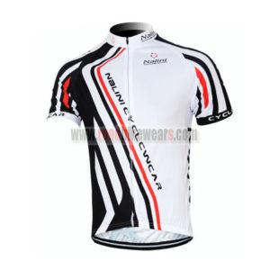2011 Team Nalini Cycling Wear Maillot Jersey Shirt White Black
