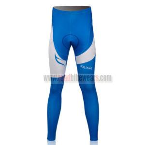 2011 Team PINARELLO Cycling Long Pants White Blue