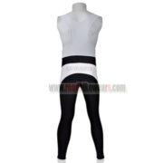 2011 Team Pearl Izumi Cycling Long Bib Pants White