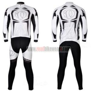 2011 Team Pearl Izumi Cycling Long Kit White