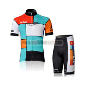 2011 Team Radar La VieClaire Biking Kit Blue Red