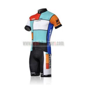 2011 Team Radar La VieClaire Cycling Kit Blue Red