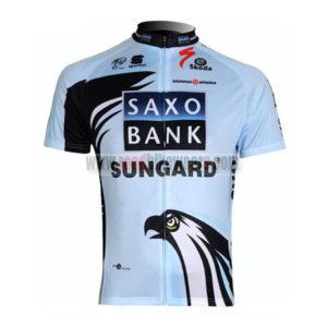 2011 Team SAXO BANK SUNGARD Cycling Maillot Jersey Shirt