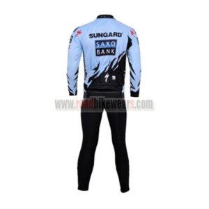 2011 Team SAXO BANK SUNGARD Riding Long Suit Blue