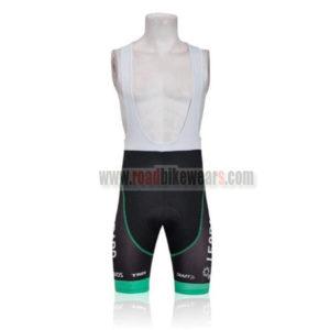2011 Team TREK Cycling Bib Shorts Black White Green
