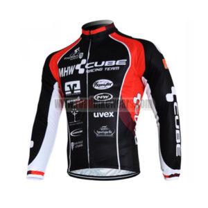 2012 CUBE Pro Bike Long Sleeve Jersey Black