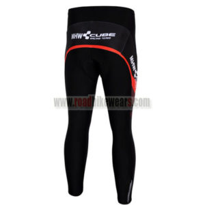 2012 CUBE Pro Cycle Long Pants Red