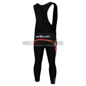 2012 CUBE Pro Riding Bib Pants Black Red