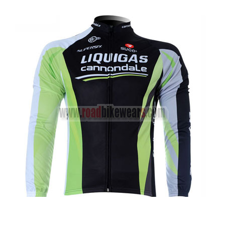 6e9d0edb8 2012 Team LIQUIGAS cannondale Winter Cycle Outfit Thermal Fleece ...