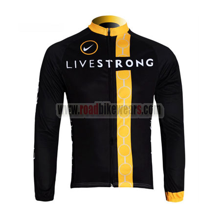 2012 Team LIVESTRONG Winter Cycle Outfit Thermal Fleece Biking Long ... 4ad221459
