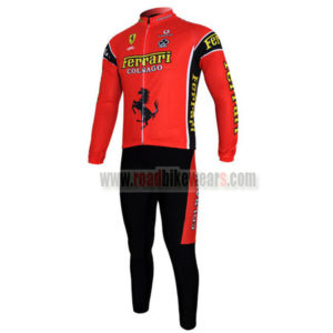 2012 Team FERARI Cycling Long Kit