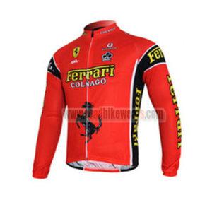 2012 Team FERARI Pro Cycle Long Jersey