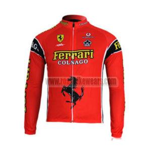 2012 Team FERARI Pro Cycling Long Jersey