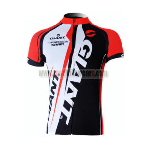 2012 Team GIANT Cycling Maillot Jersey Shirt Red White Black
