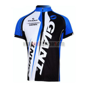 2012 Team GIANT Riding Maillot Jersey Shirt Blue White Black