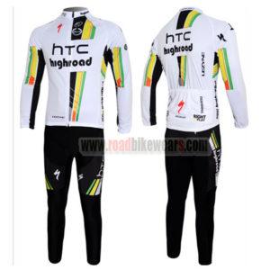 2012 Team HTC highroad Pro Bike Long Sleeve Kit