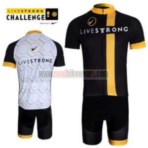 2012 Team LIVESTRONG Riding Wear Cycle Jersey and Padded Shorts Roupas  Bicicleta a8bff3ee8