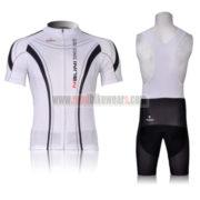 2012 Team Nalini Cycling Bib Kit White