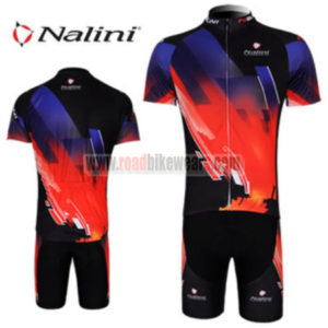 f8dc096ee 2012 Team Nalini Riding Wear Cycle Jersey and Padded Shorts Roupas  Bicicleta Blue Red Black