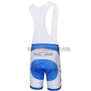 2012 Team Pearl Izumi Riding Bib Shorts White Blue