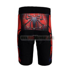 2012 Team Spiderman Bike Shorts Red Black