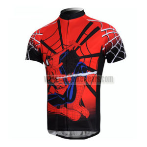 2012 Team Spiderman Road Bike Wear Riding Jersey Top Shirt Maillot Cycliste  Red a2c3110a9