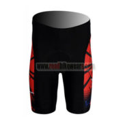 2012 Team Spiderman Cycling Shorts Red Black