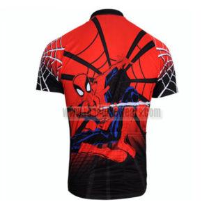 2012 Team Spiderman Riding Jersey Red Black