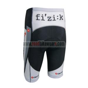 2014 Team Castelli Bike Shorts Black Grey