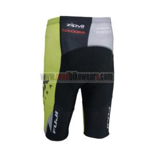2014 Team GEOX FUJI Biking Shorts Black Yellow