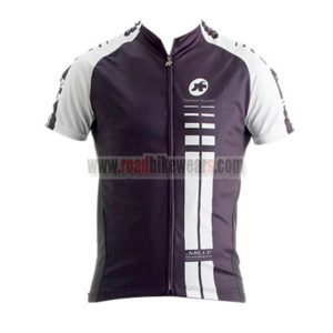 2015 Team ASSOS Cycling Jersey For Men Black