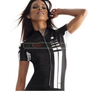 2015 Team ASSOS Cycling Jersey For Women Black