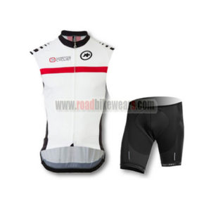 2015 Team ASSOS Cycling Kit White