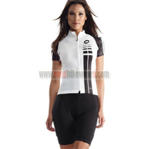 2015 Team ASSOS Women's Cycling Kit White